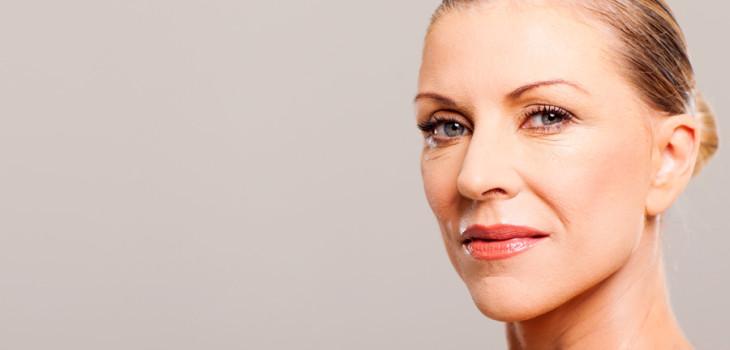 Viso di donna over 50