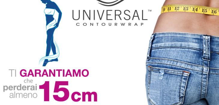 offerta universal contour wrap, 15 cm in una sola seduta per 30 giorni
